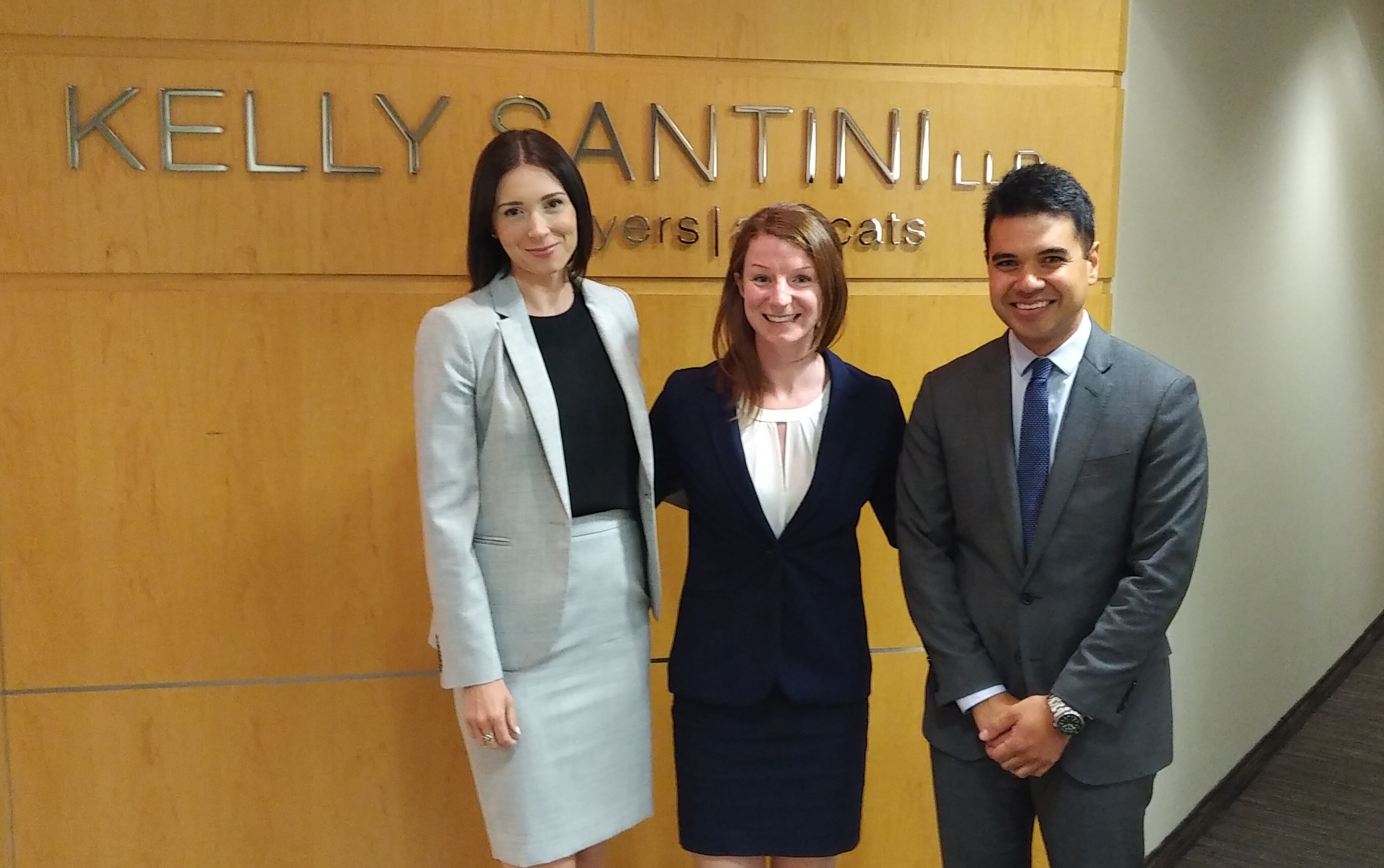 Kelly Santini Articling Students 2018/19